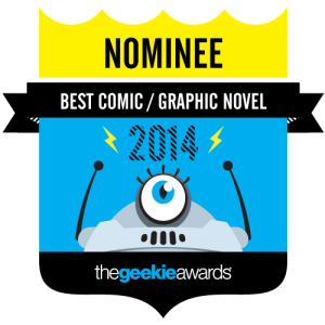 The Geekie Awards - Boston Metaphysical Society Nominated for Best Comic/Graphic Novel