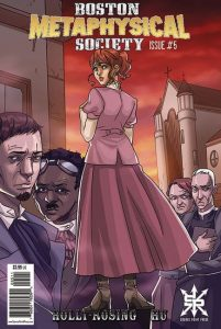 Boston Metaphysical Society #5 Cover