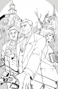 Boston Metaphysical Trade Inked Cover