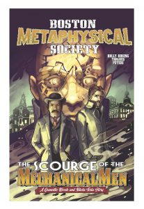 The Scourge of the Mechanical Men Cover
