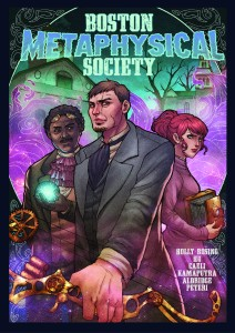 Boston Metaphysical Society Trade Cover Revealed!