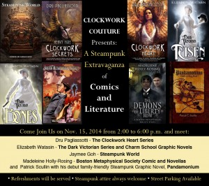 Steampunk Extravaganza of Comics and Literature