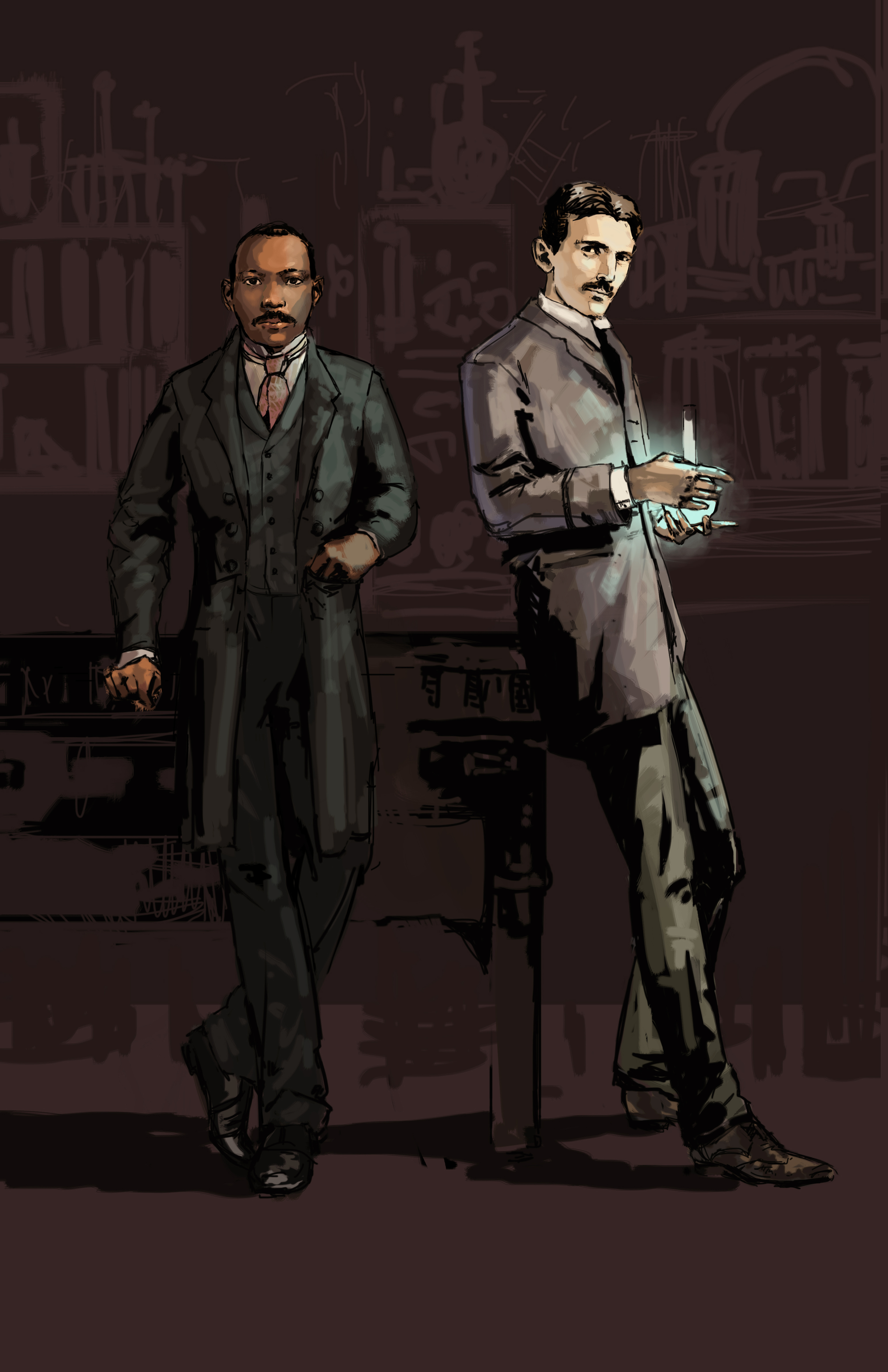 Granville Woods and Tesla by Gwynn Tavares